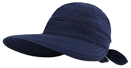 - Simplicity Women's UPF 50+ UV Sun Protective Convertible Beach Hat Dark Blue