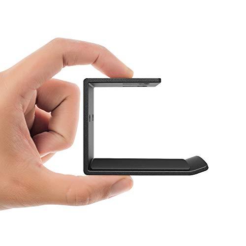 Large Product Image of 6amLifestyle Headphones Headset Stand Holder Hanger Hook Mount Under Desk for All Headphone, Black