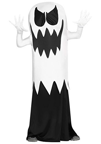 Fun World Big Boy's Floating Ghost Costume Childrens Costume, White, Medium]()
