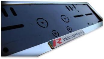 BMW Performance license plate holder Black Glossy Bracket Bracket Surround frame