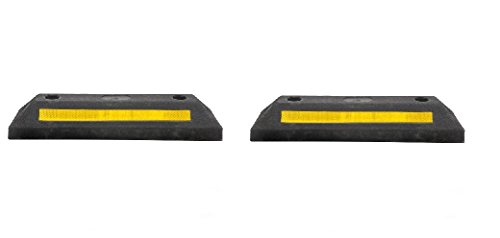21 Rubber Parking Curb Stop For Garage Driveway Wheel