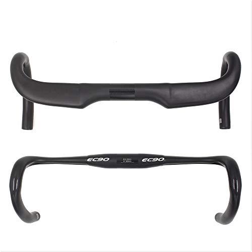 - EC90 2018 Latest Carbon Fiber Bicycle Handlebar 31.8mm Diameter Aero Drop Bar Carbon Bike Handlebar 400/420 / 440mm (440mm)