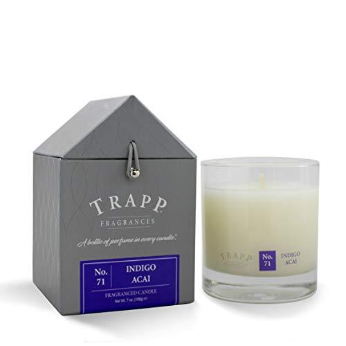 (Trapp Signature Home Collection No. 71 Indigo Acai Poured Scented Candle, 7-Ounce)