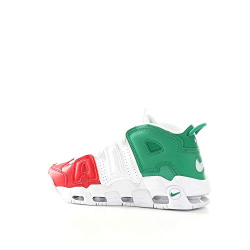 Uomo More Green da Italy Ginnastica QS Red '96 University White NIKE 600 Lucid Basse Multicolore Scarpe Air Uptempo a5qwnvS