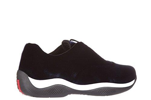 Zapatos Prada Zapatillas Blu Mujer De Deporte vaYqgwYd