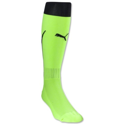 Puma Mens Power 5 Socks NEON YELLO