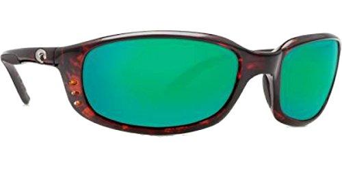 Costa Del Mar Galveston 580P Galveston, Tortoise Frame Green Mirror, Green - Galveston Sunglasses Costa Del Mar