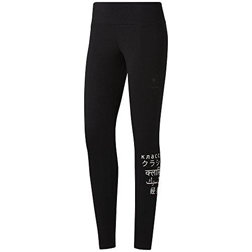 Reebok Legging, Black, Medium