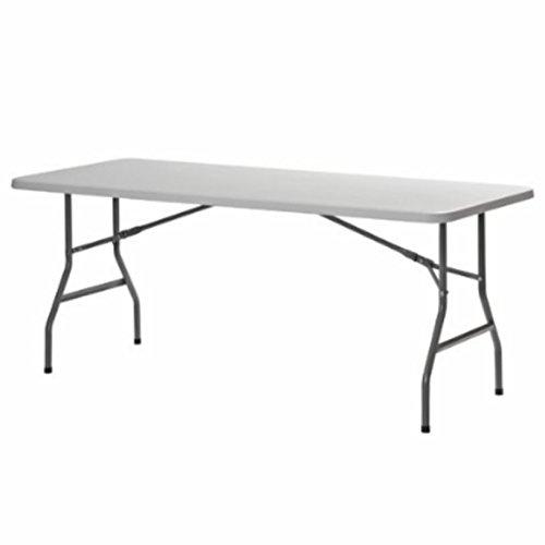Sandusky 72'' x 30'' Plastic Folding Table (white) by Sandusky...