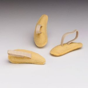 Hammer Toe Crests Buttress Pads, Left, Medium, Suede ()