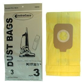 Filters-NOW VFBU48244503 Kirby Style 3 Vacuum Bags for Kirby Heritage II ()