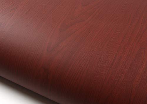 ROSEROSA Peel and Stick PVC Instant Premium Wood Decorative Self-Adhesive Film Countertop Backsplash Cherry Wood (WD624 : 2.00 Feet X 6.56 Feet) - Wood Wall Cherry