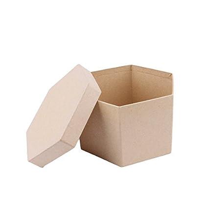 MP PD204 - Juego de 5 cajas scrapbooking hexagonales
