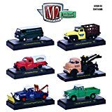 (Auto Trucks 6 Piece Set Release 36 IN DISPLAY CASES 1/64 by M2 Machines 32500-36)