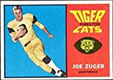 1964 Topps CFL (Football) Card# 35 Joe Zuger of the Hamilton Tiger Cats Fair Condition