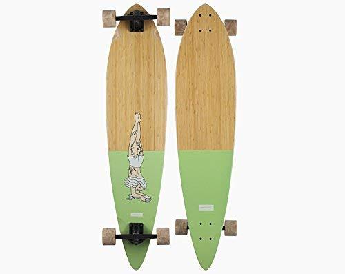 Pinner Longboard - Landyachtz Bamboo Pinner Handstand Complete Longboard - 2018