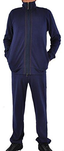 - Zimmerli Luxury Loungewear/Warm Ups - Medium/NavyRed