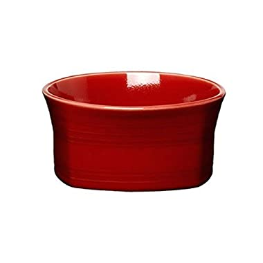 (Ship from USA) Fiesta 19-Ounce Square Medium Bowl Scarlet /ITEM NO#8Y-IFW81854147631