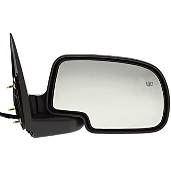 Tahoe Right Pass Power Chrome Mirror W//Ht Man Fold Fits 00-02 Suburban Yukon