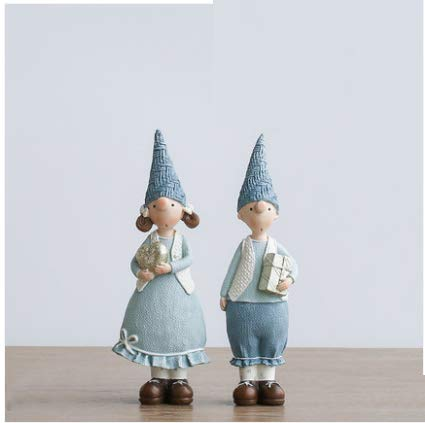 BGXC Scandinavian Decorative Crafts Creative Gifts Table-top Decorative Ceramic Decorative Gifts(A)