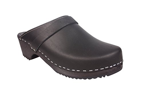 Lotta From Stockholm Classic Clog in Black with Black Sole N41kCqUz6