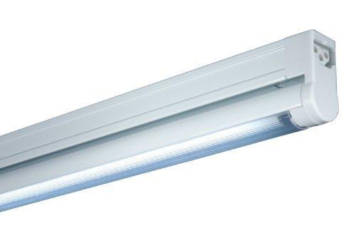 Jesco Lighting SG4A-16/41-S Sleek Plus Adjustable Grounded 16-Watt T4 Light Fixture, 4100K Color, Silver Finish by Jesco Lighting Group