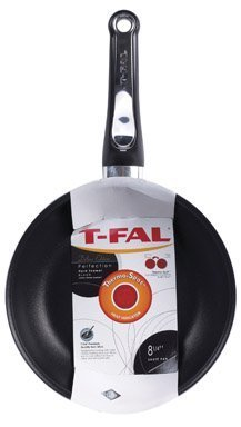 T-fal E6080862 Ultimate Nonstick Hard Enamel 12.5-Inch Fry Pan / Saute Pan, Black
