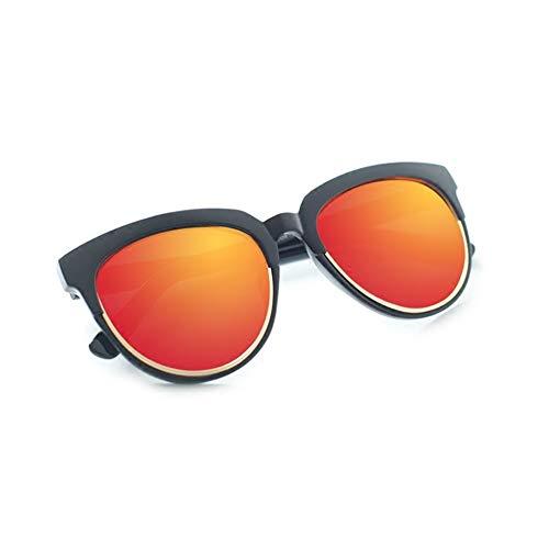 soleil femmes UV NIFG États Europe anti les Unis mode soleil de et de et brillant hommes lunettes de lunettes rondes PqAUq0