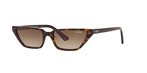 VOGUE Women VO5235S 53 Tortoise/Brown Sunglasses - Vogue Eye Wear