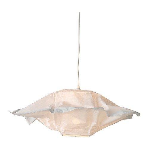 Ikea Varmluft - Lampadario in carta, quadrato, lato: 66 cm: Amazon ...