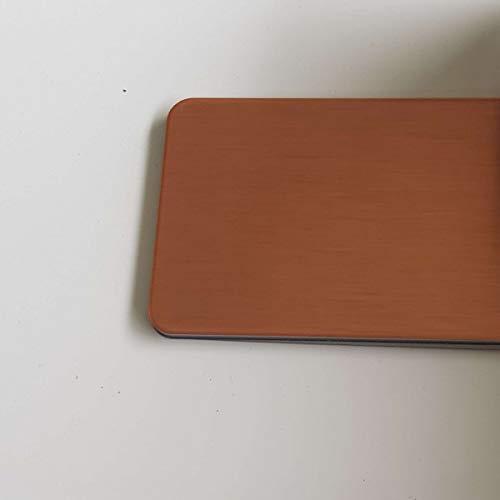 Hauteur 60 cm x Largeur 50 cm Cr/édence Composite Cuivre Bross/é