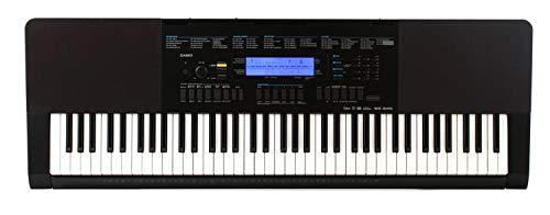 Casio WK-245 76-Key Touch Sensitive Keyboard with Power Supp