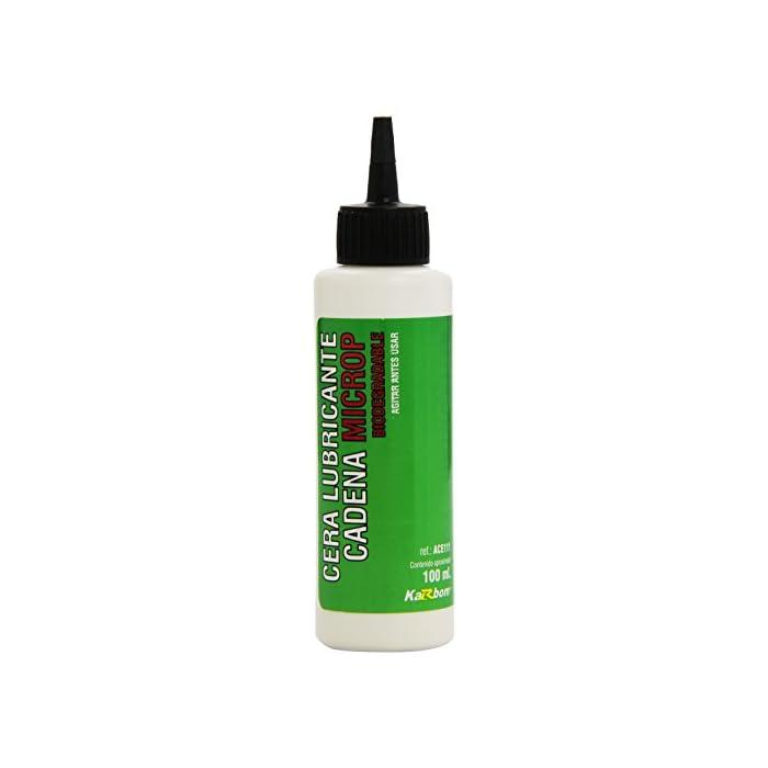 Bompar Karbom – Cera lubricante Cadena – para Ciclismo – 100 ml