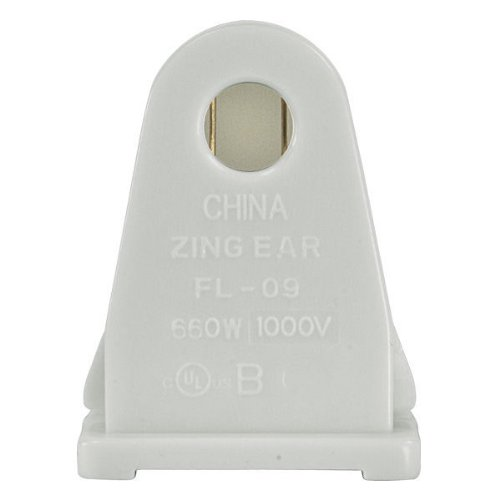 Stationary Socket for Single Pin for T12 Fluorescent Lamps - Satco 80-1497 (Single Pin Socket)