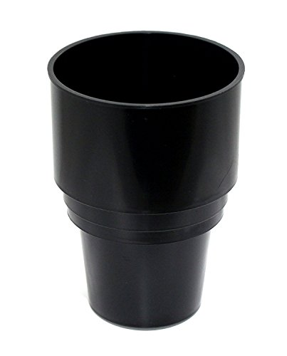 JSP Manufacturing Black Replacement Golf Cart UTV Cup Holder Insert Portable 16.4oz Propane Heater