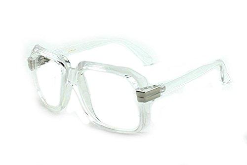 Newbee Fashion - IG 80's Old School Rapper Hip Hop DJ Short Trim - Dj 80 Sunglasses