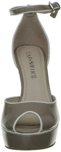 CADASTRE8ZERO - Sandalias para mujer Beige (Beige (273 Taupe))