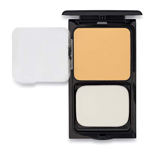 Buttercup Compact by Sacha Cosmetics, Best Translucent Pressed Face Powder for Setting Makeup Foundation with no Flashback for all Skin Tones, 0.45 oz