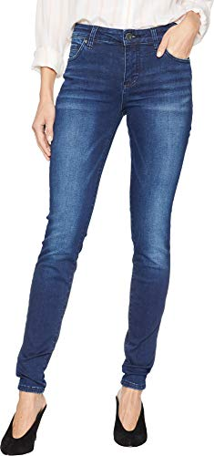 KUT from the Kloth Women's Mia Toothpick Skinny Jeans in Reaction Reaction/Medium Base Wash 10 31 31