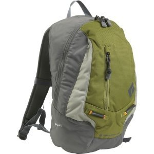 Black Diamond Bullet Camping Backpack, Green Olive, Outdoor Stuffs