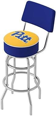 NCAA Padded Bar Stool with Back