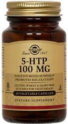 Solgar, 5-HTP 100 mg, 90 gélules végétales