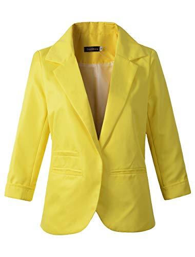 Benibos donna donna da gialla donna gialla Giacca Benibos da da gialla Giacca Benibos Giacca ARa6U