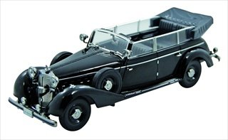 Amazon.com: 1938 Mercedes 770 K Parade Car 1/43 Por ...