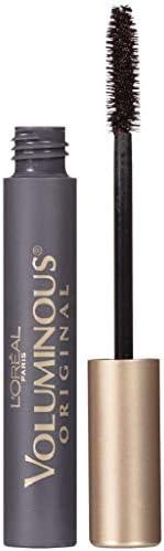 L'Oréal Paris Voluminous Original Mascara, 5X Fuller Lashes, Blackest Black Wash