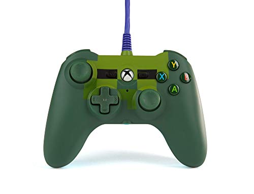 PowerA Mini Wired Controller for Xbox One - Minecraft Zombie - Xbox One (Green Xbox 360 Controller Wired)