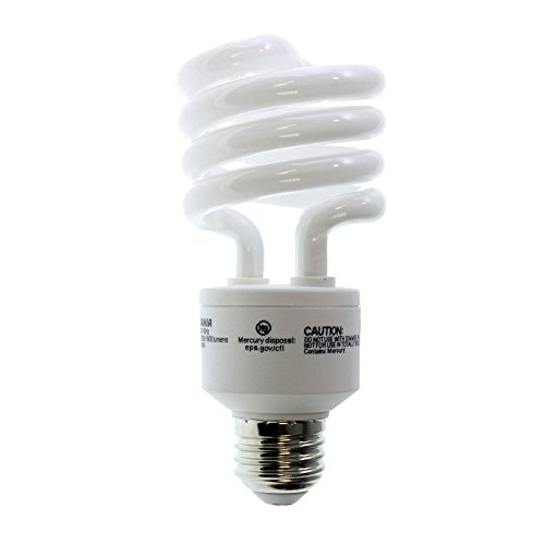 TWIST Light Bulb, 23W Medium Base Electronic Compact Fluorescent - Warm White (120 Volt Warm White Spiral)