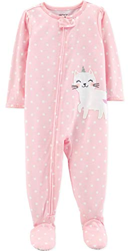 Carter's Baby Girls' 1 Pc Cotton 331g244 (24 Months, Kitty Unicorn)
