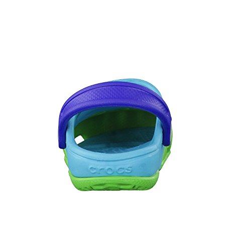 Verde K Bambino Ii azzurro Unisex E Crocs Per Electro Clog Zoccoli Sabot q4wwHv
