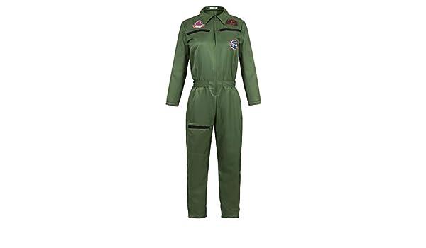 Disfraz Piloto Mujer Avion Top Gun Disfraz De Militar Disfraces ...